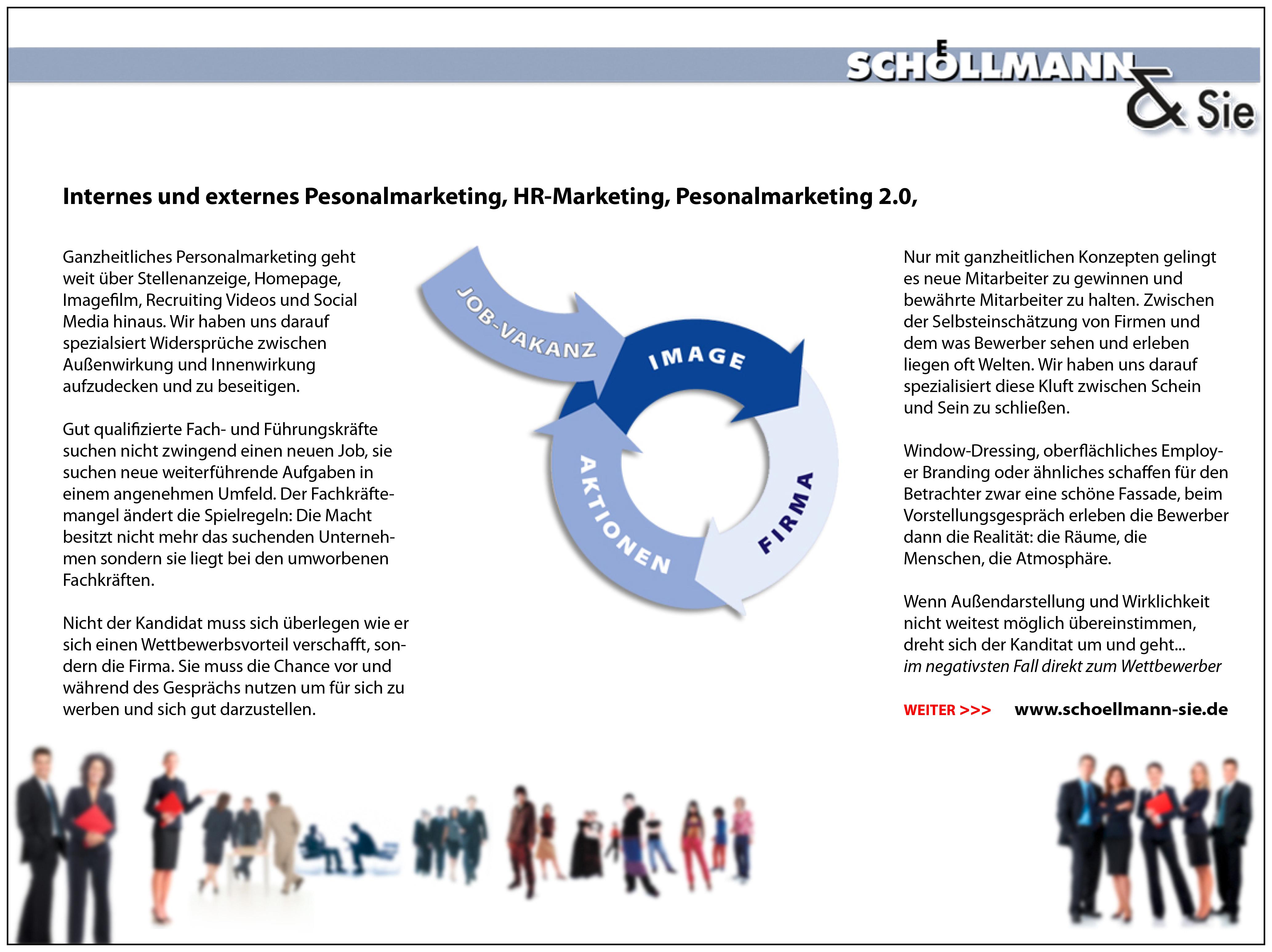 Übersicht - Schoellmann & Sie ist Werbeagentur, Marketingagentur, Gender Marketing, Webdesign, Personal Marketing, Employer Branding Weinheim Mannheim Heidelberg